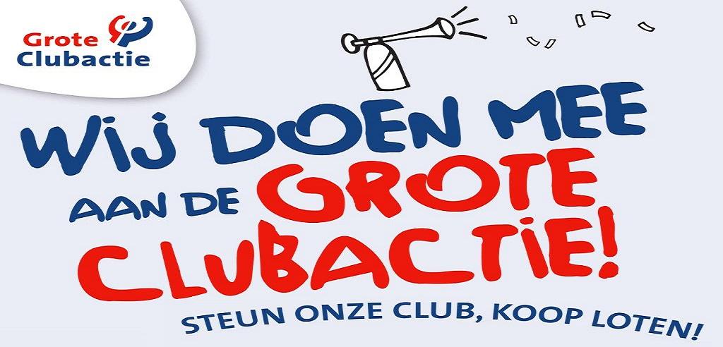 Grote Clubactie gaat zaterdag weer van start!