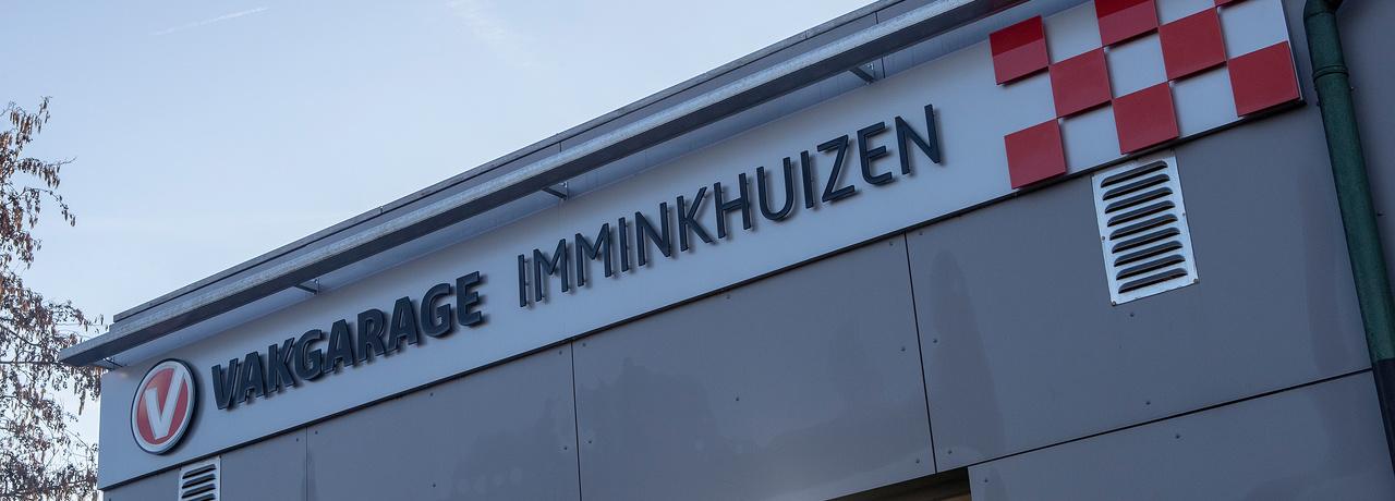 Nieuwe sponsor: Vakgarage Imminkhuizen