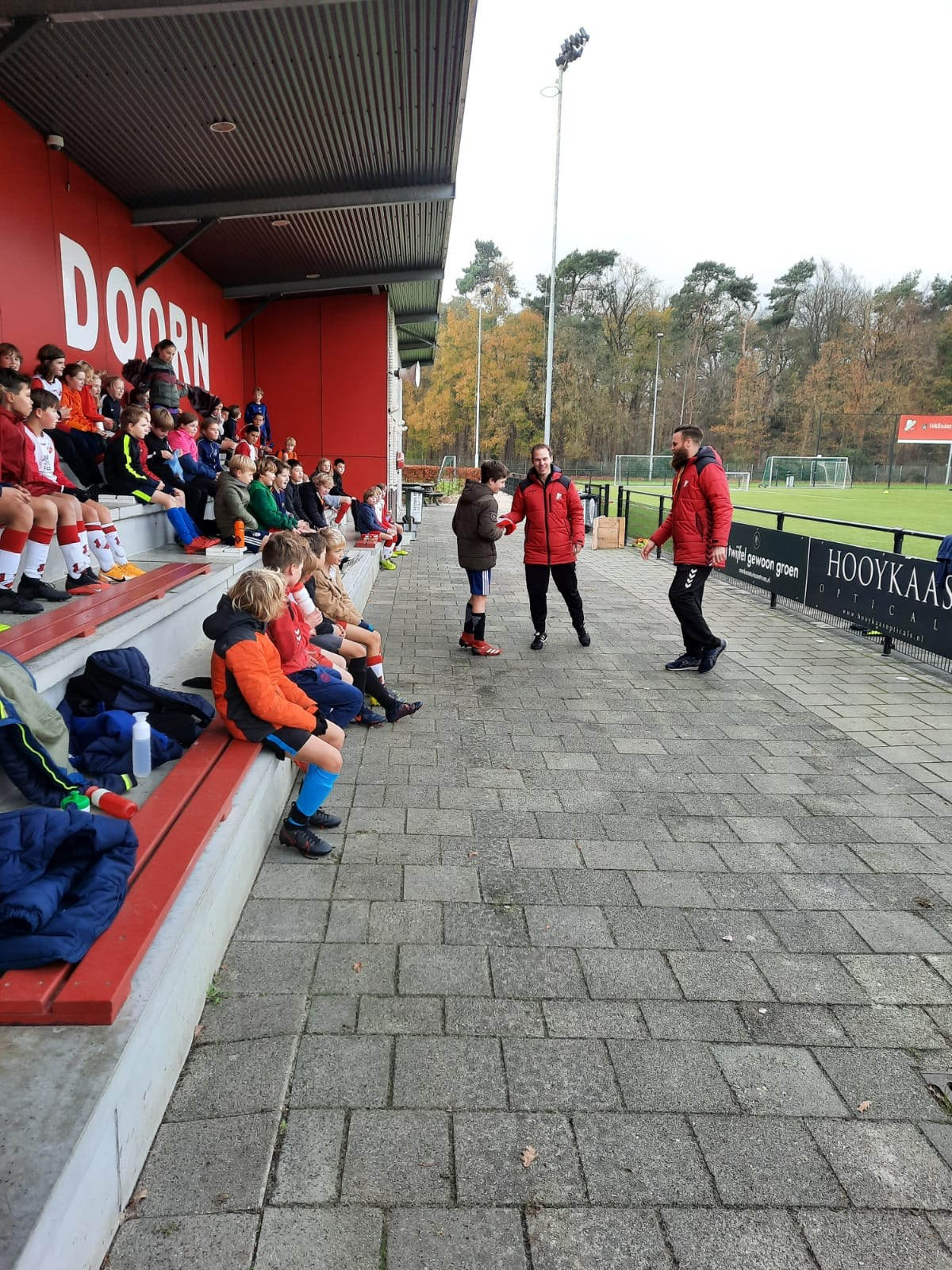 In Coronatijd: DEV Doorn Voetbalschool schot in de roos!