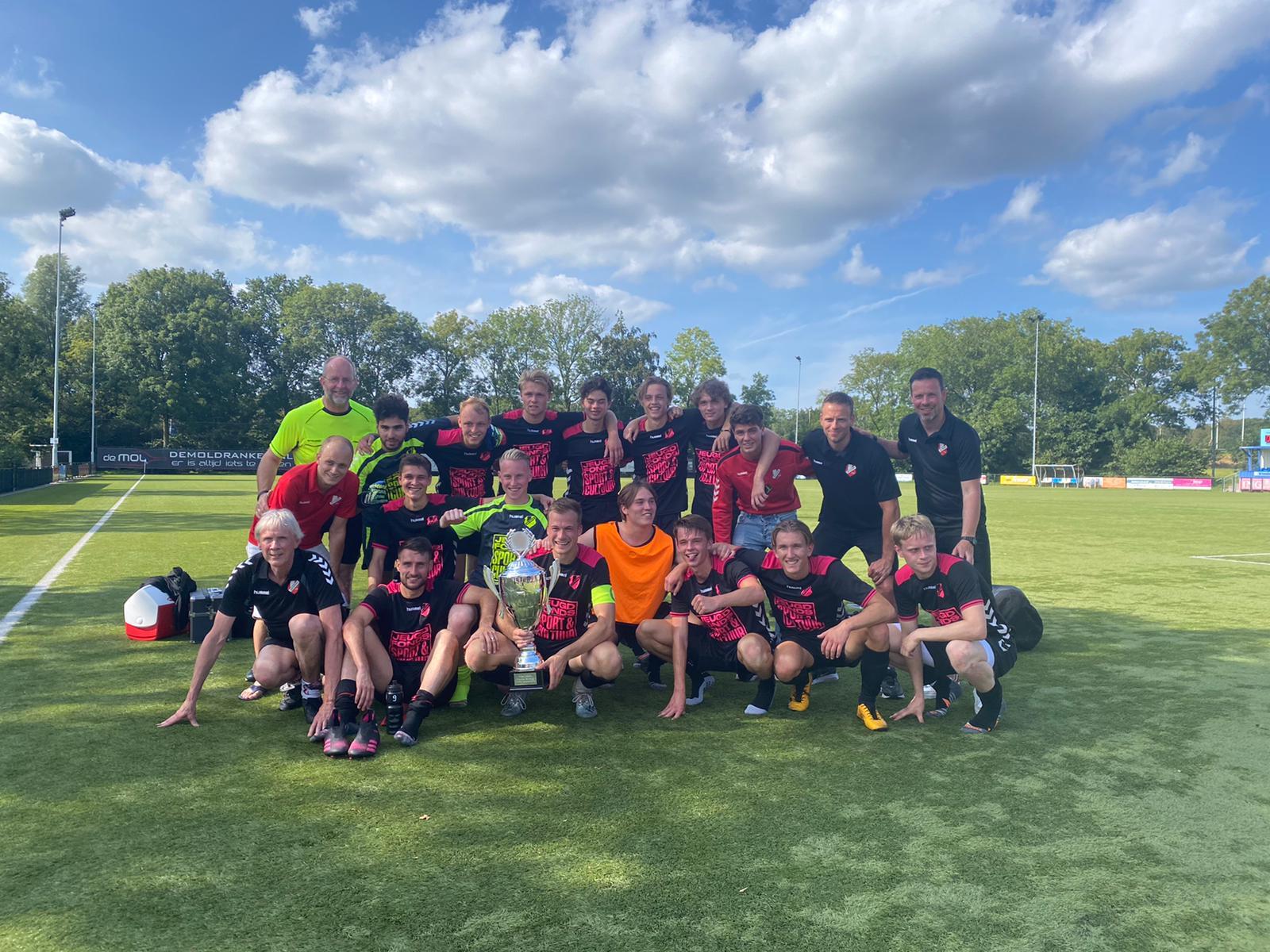 DEV Doorn 1 wint Utrechtse Heuvelrug Kampioenschappen